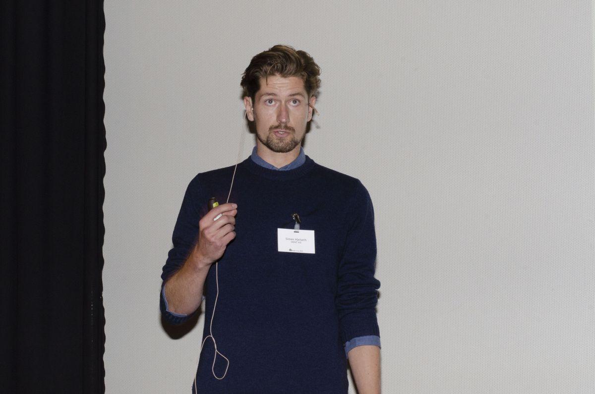 Anleggsleder Simen Hjelseth i HENT.