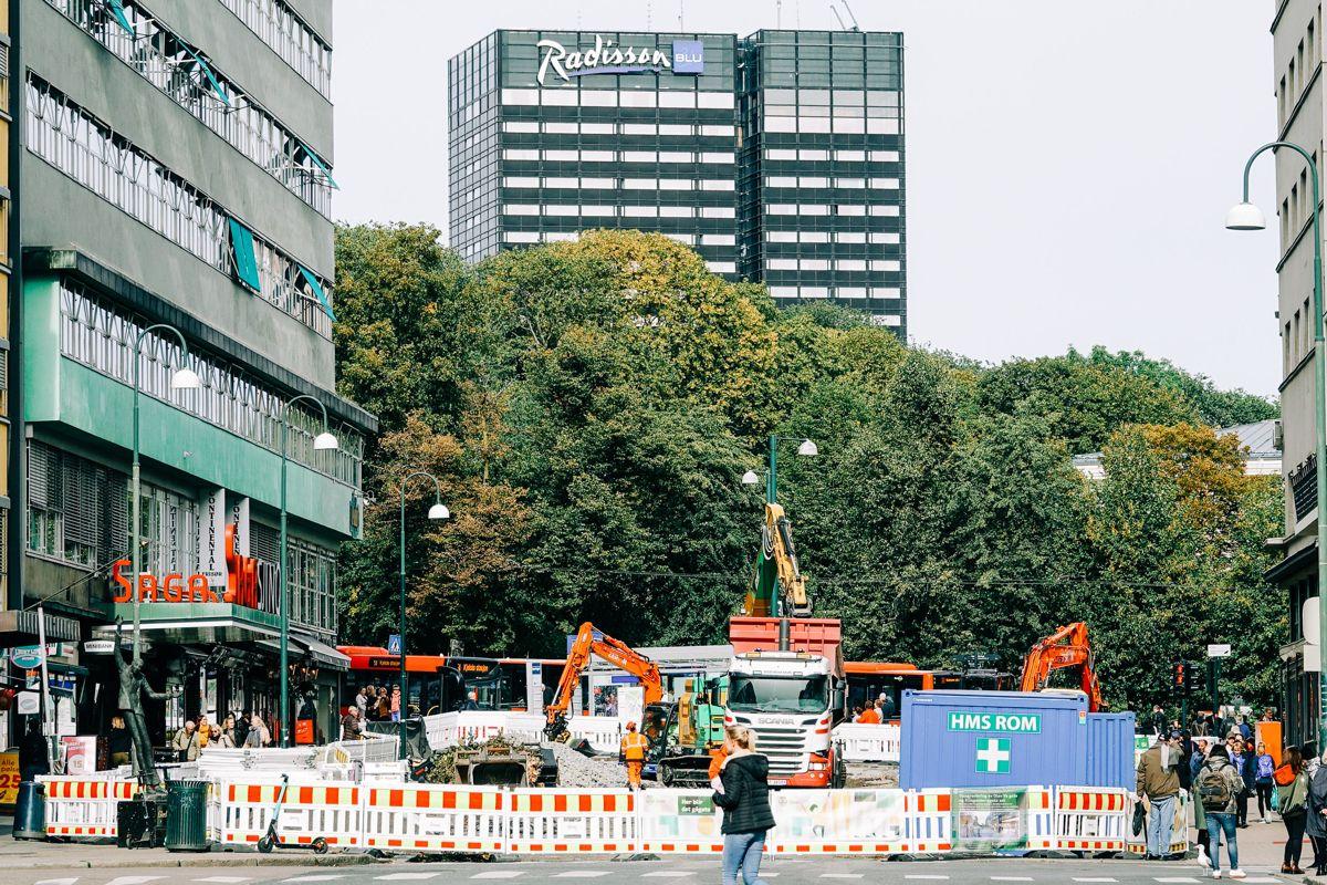Pilotprosjektet for utslippsfri anleggsplass er sentralt i kommunes arbeid med å gjøre Oslo til en grønn og fotgjengervennlig by.