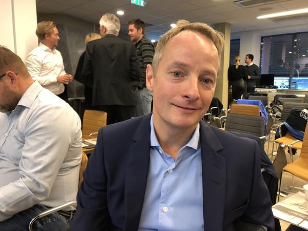 Bård Frydenlund er konserndirektør Sverige i AF Gruppen.