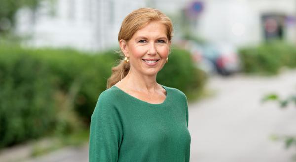 Sjeføkonom Sissel Monsvold i OBOS. Foto: Hans Fredrik Asbjørnsen