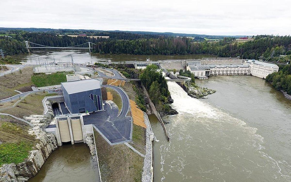 Vamma 12 utgjør en kraftig økning i slukeevne og kraftproduksjon ved kraftverket. Foto: E-Co Energi