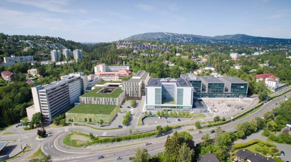 Radiumhospitalet. Illustrasjon: Henning Larsen Architects, AART Architects og Momentum Arkitekter