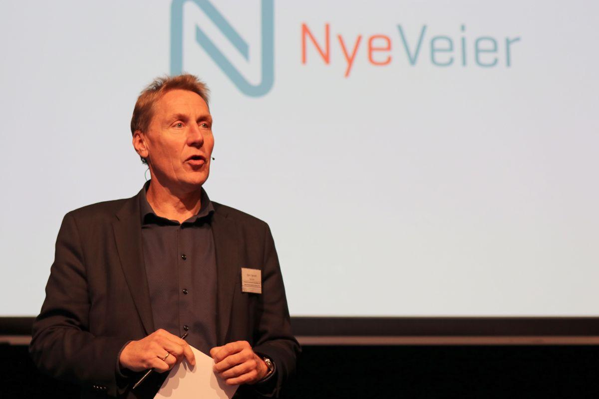 Bjørn Børseth, direktør for kontrakt og anskaffelser i Nye Veier. Arkivfoto: Christian Aarhus