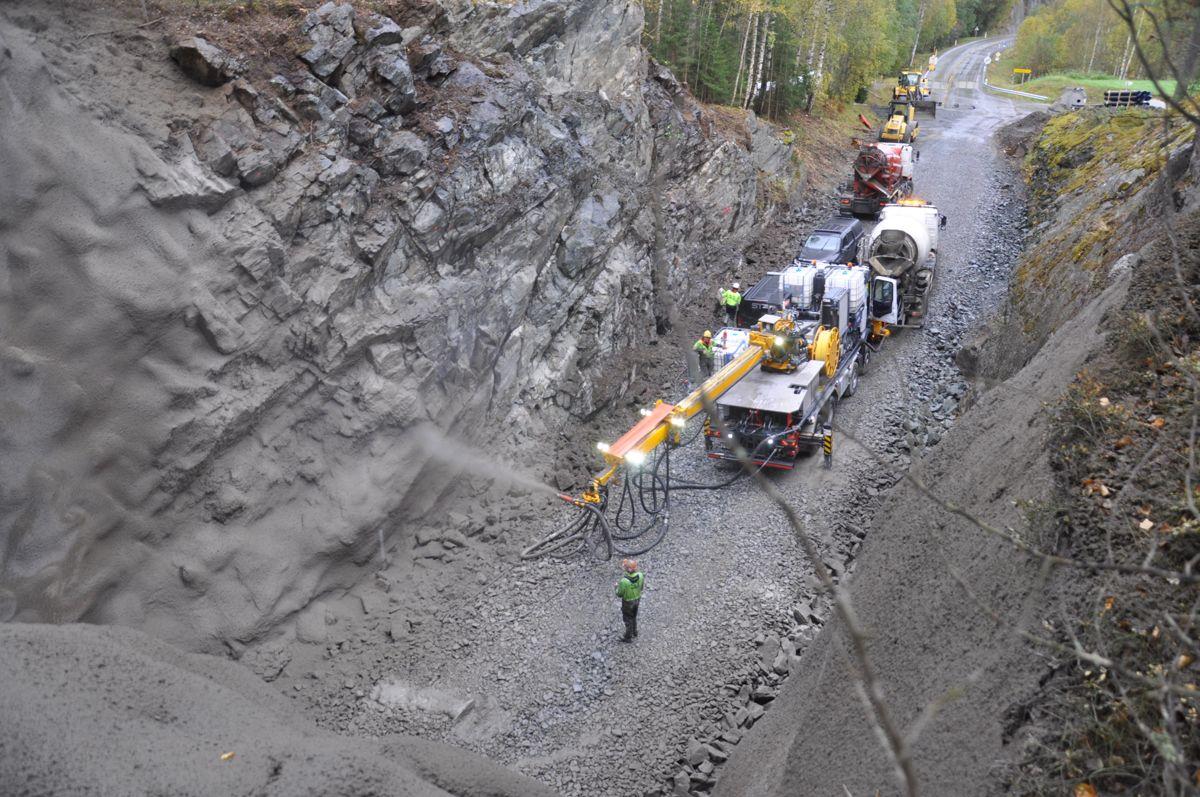 Tunnelen er 53 meter lang og bygd i 1968. Foto: Kjell Wold/Statens vegvesen