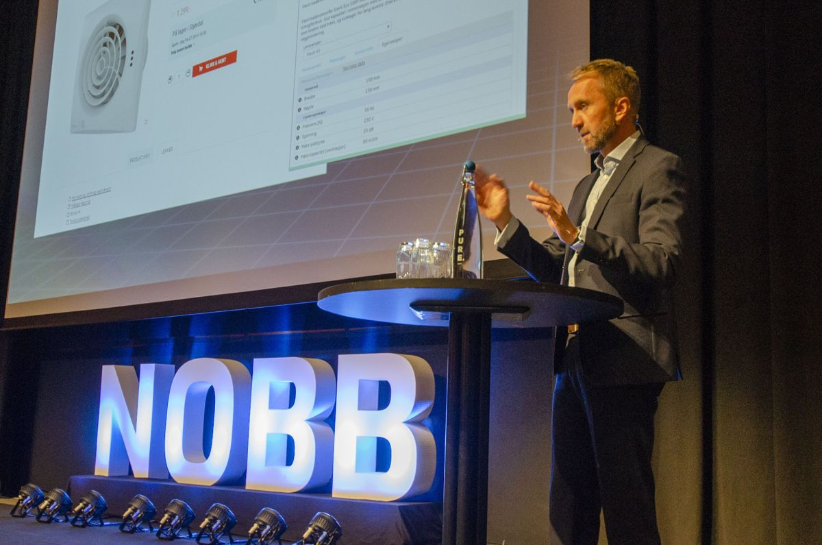 Administrerende direktør i Byggtjeneste, Øyvind Skarholt.