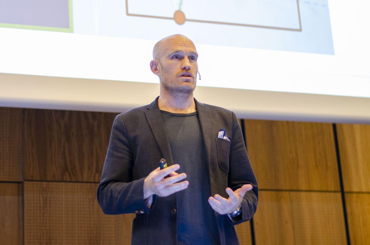 Ben Fitzgerald i CoreMarine fortalte om praktiske løsninger på under.