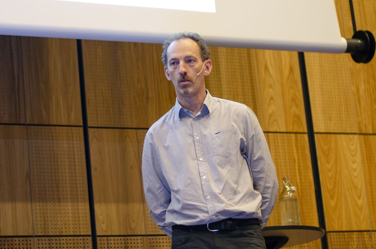 Ian Markey i Statens vegvesen.