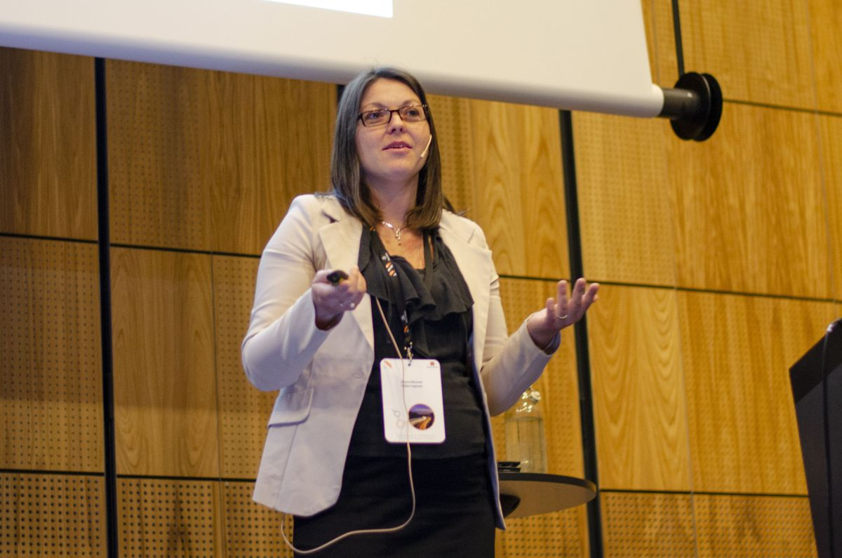 Arianna Minoretti i Statens vegvesen.