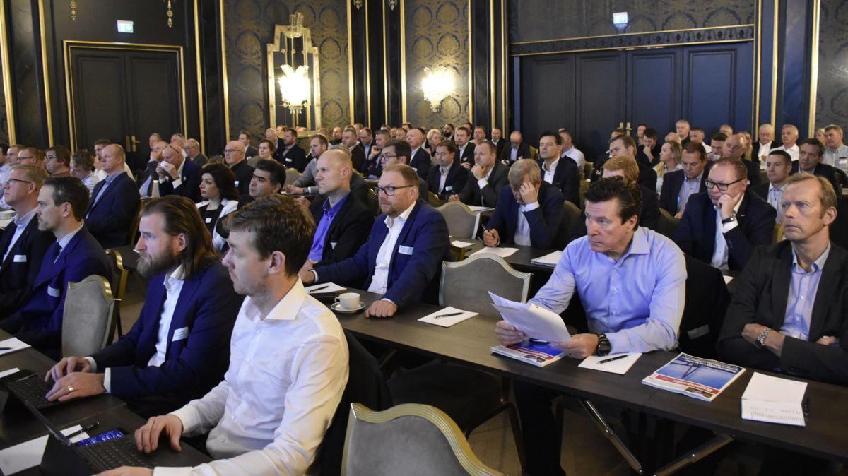 <p>Kjetil Myhre i Norsk Stålforbund sier Norsk Ståldag har befestet seg som en viktig møteplass for bransjen.</p>