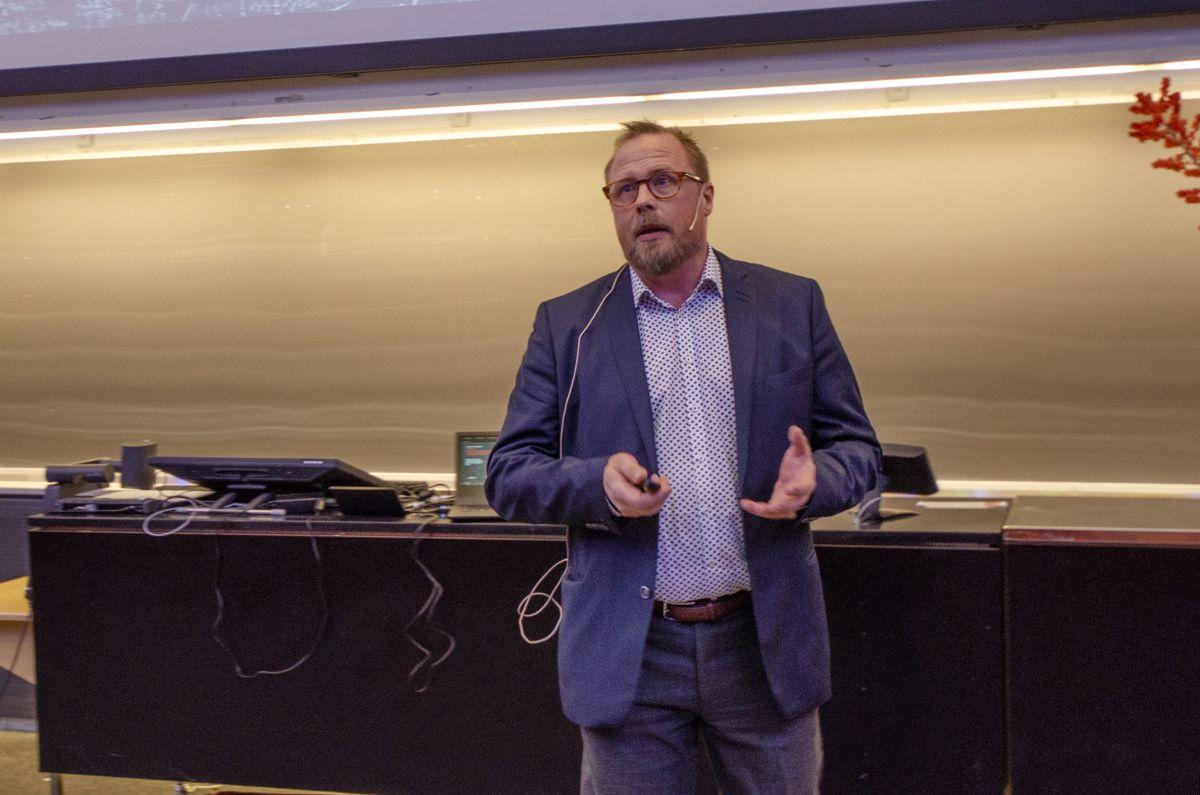 Utviklingssjef Erik Rigstad i Cowi.