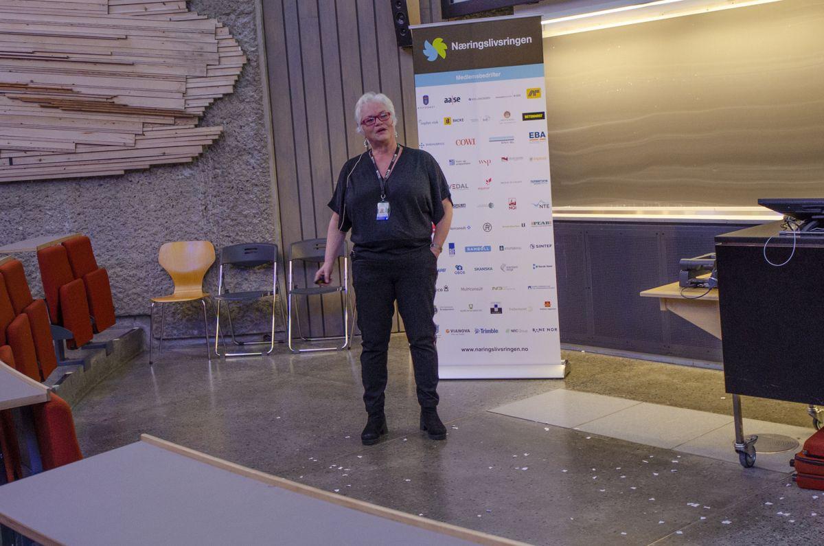 Innovasjonsleder Rita Løberg i NTNU.