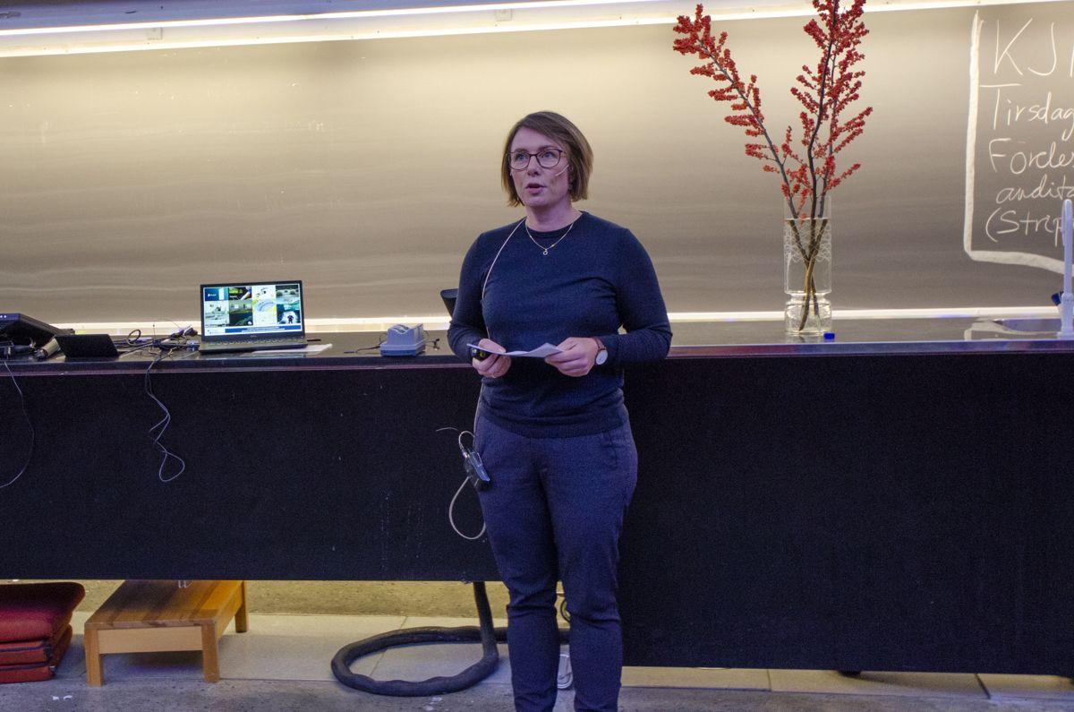 Innovasjonsleder Camilla Jørås Larsen i TTO.