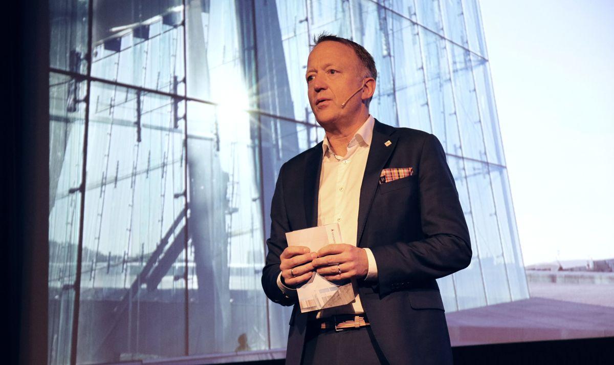 Administrerende direktør Harald V. Nikolaisen i Statsbygg tror vareleveranser kan bli vanskelig også i lang tid fremover, men at prisveksten vil flate ut i 2022. Arkivfoto.