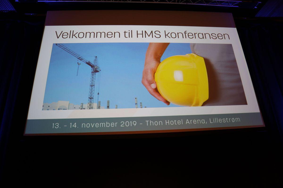 HMS-konferansen 2019. Foto: Svanhild Blakstad