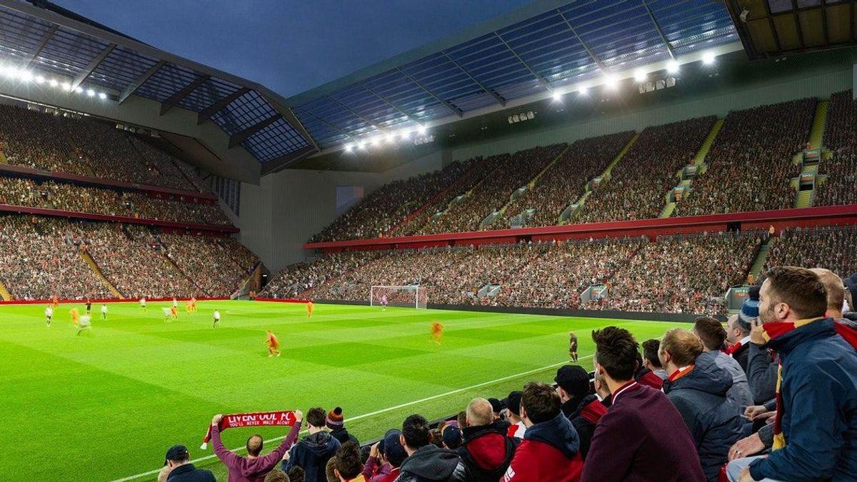Kostnadene er stipulert til over 788 millioner kroner (66 millioner pund). Illustrasjon: Liverpoofc.com