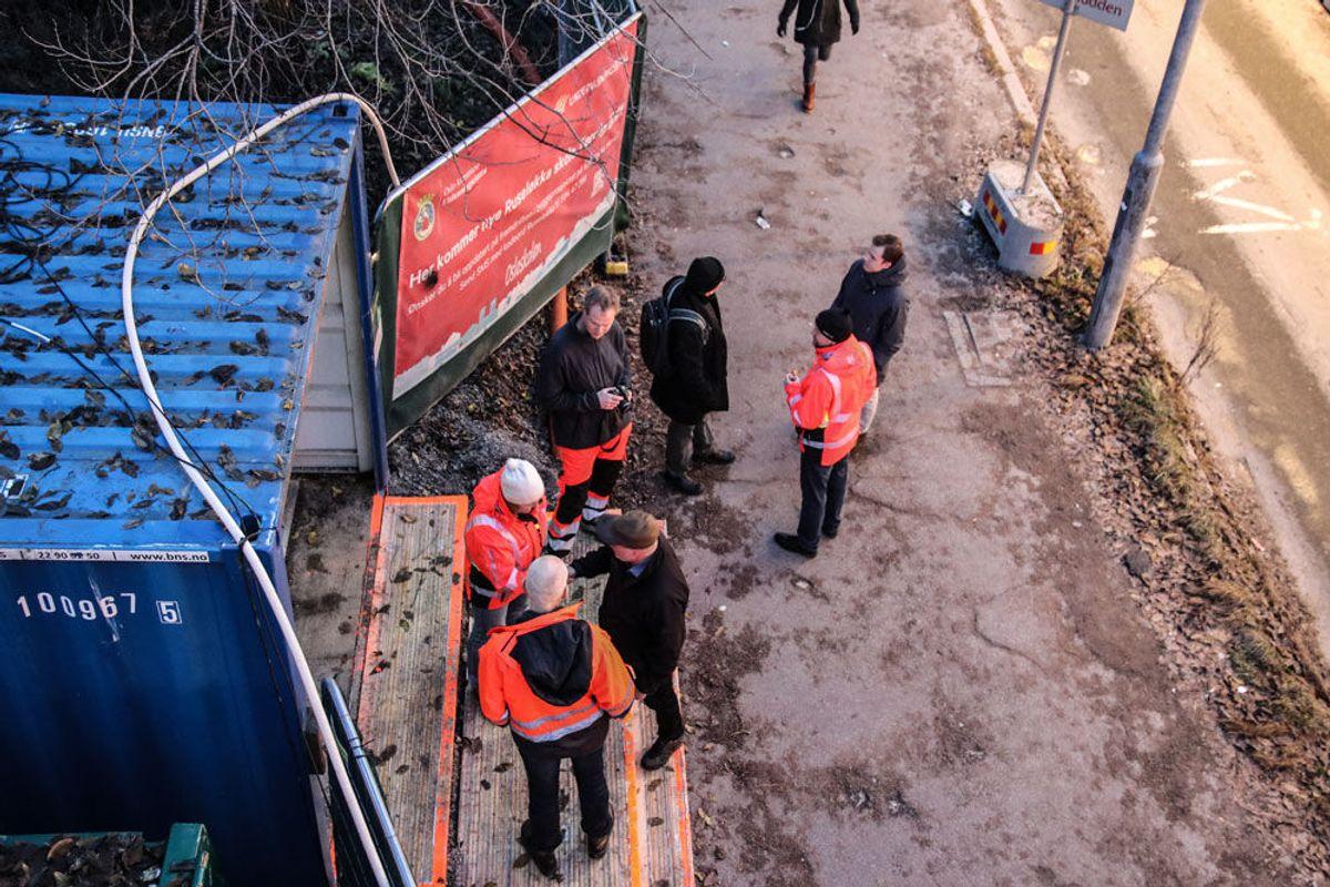 Fra Veidekkes frokostseminar om utslippsfrie byggeplasser. Foto: Malin S. Strandberg.