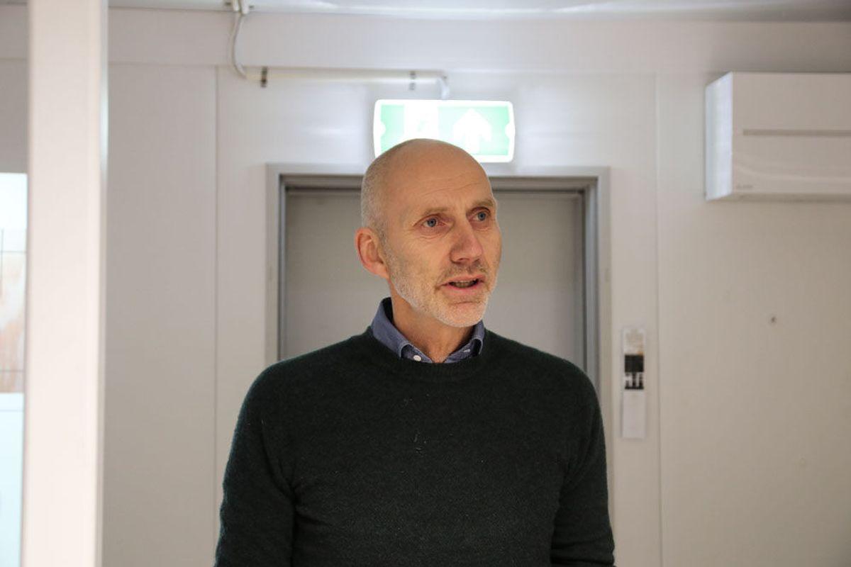 Hans Olav Sørlie, Veidekke. Foto: Malin S. Strandberg.