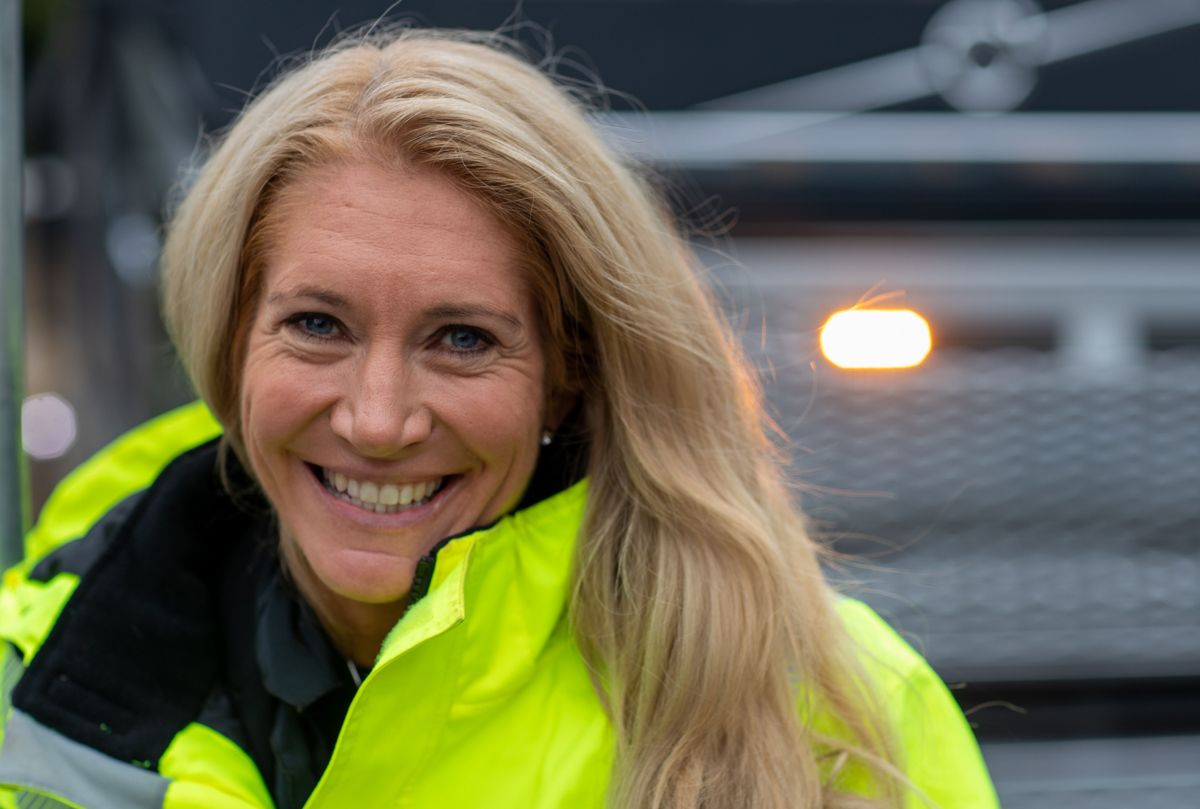 <p>Administrerende direktør Julie Brodtkorb i Maskinentreprenørenes Forbund. Arkivfoto: Jørn Søderholm</p>