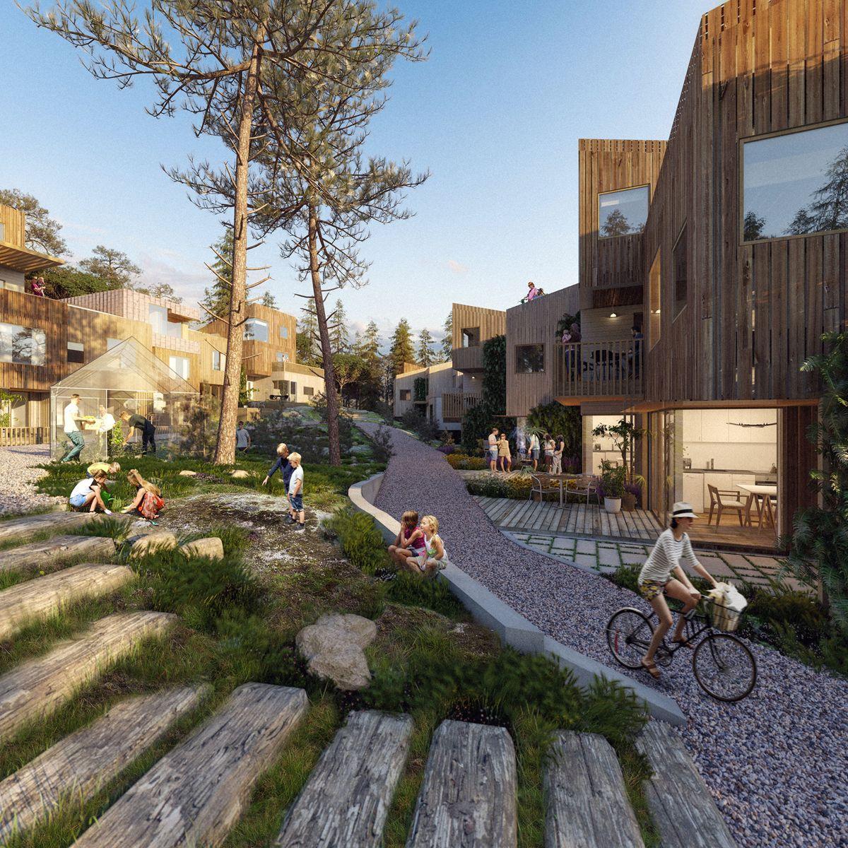 Illustrasjon: LPO Arkitekter/WSP Norge