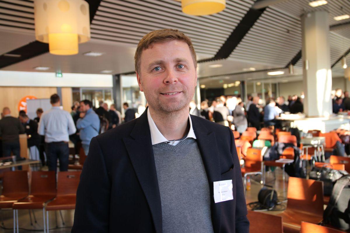 Statsbyggs prosjektdirektør Per Roger Johansen.