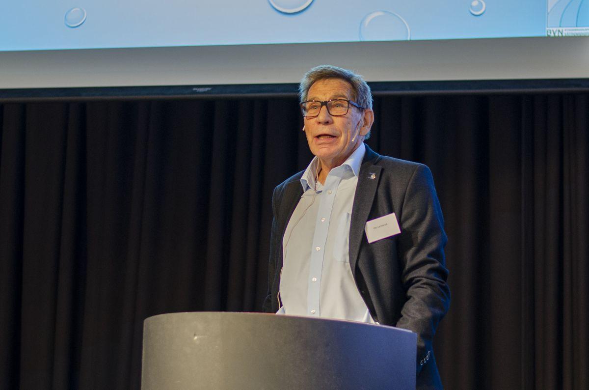 Seniorkonsulent innen rørleggerfaget og første formann i Fagrådet for våtrom, Ole Larmerud.