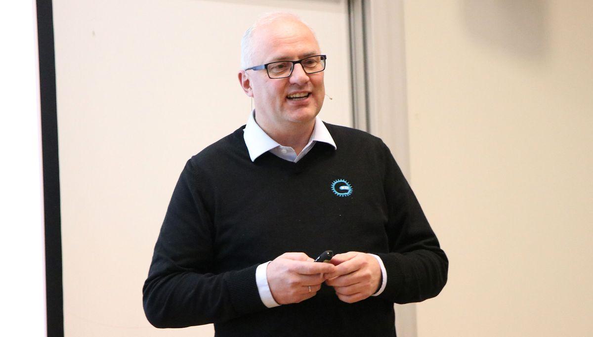 Regionsjef i Vest Paul Olaf Baraas i Maskinentreprenørenes Forbund (MEF).