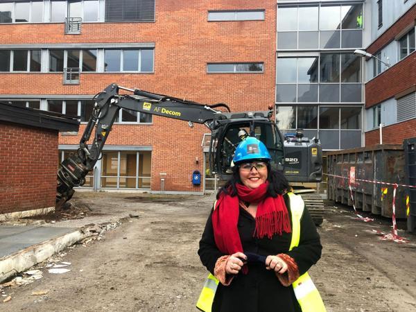 Victoria Marie Evensen, byråd for næring og eierskap i Oslo kommune. Foto: Omsorgsbygg