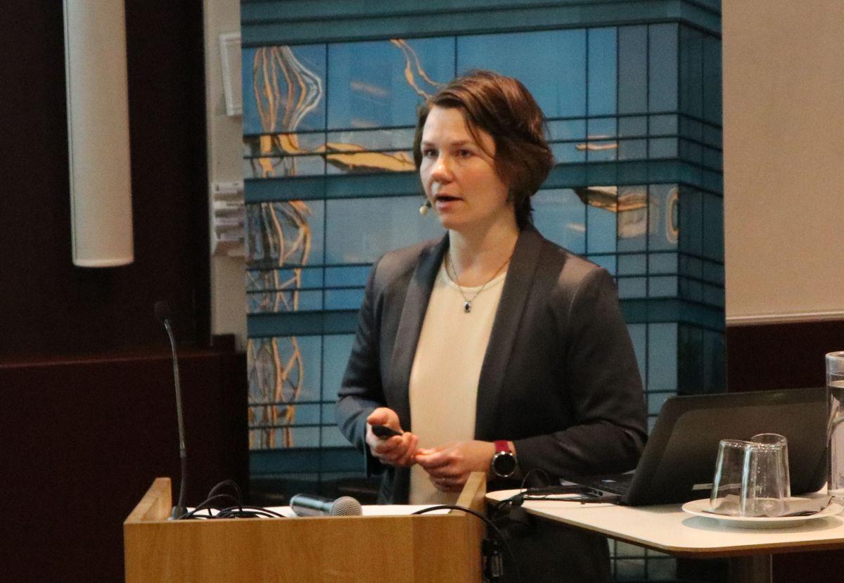 Kristin Holthe, leder av Skanska Teknikk.