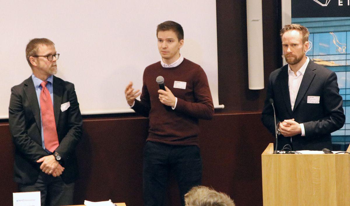 Tormod Lien, Magnus Gevelt og Geir Graff-Kallevåg.