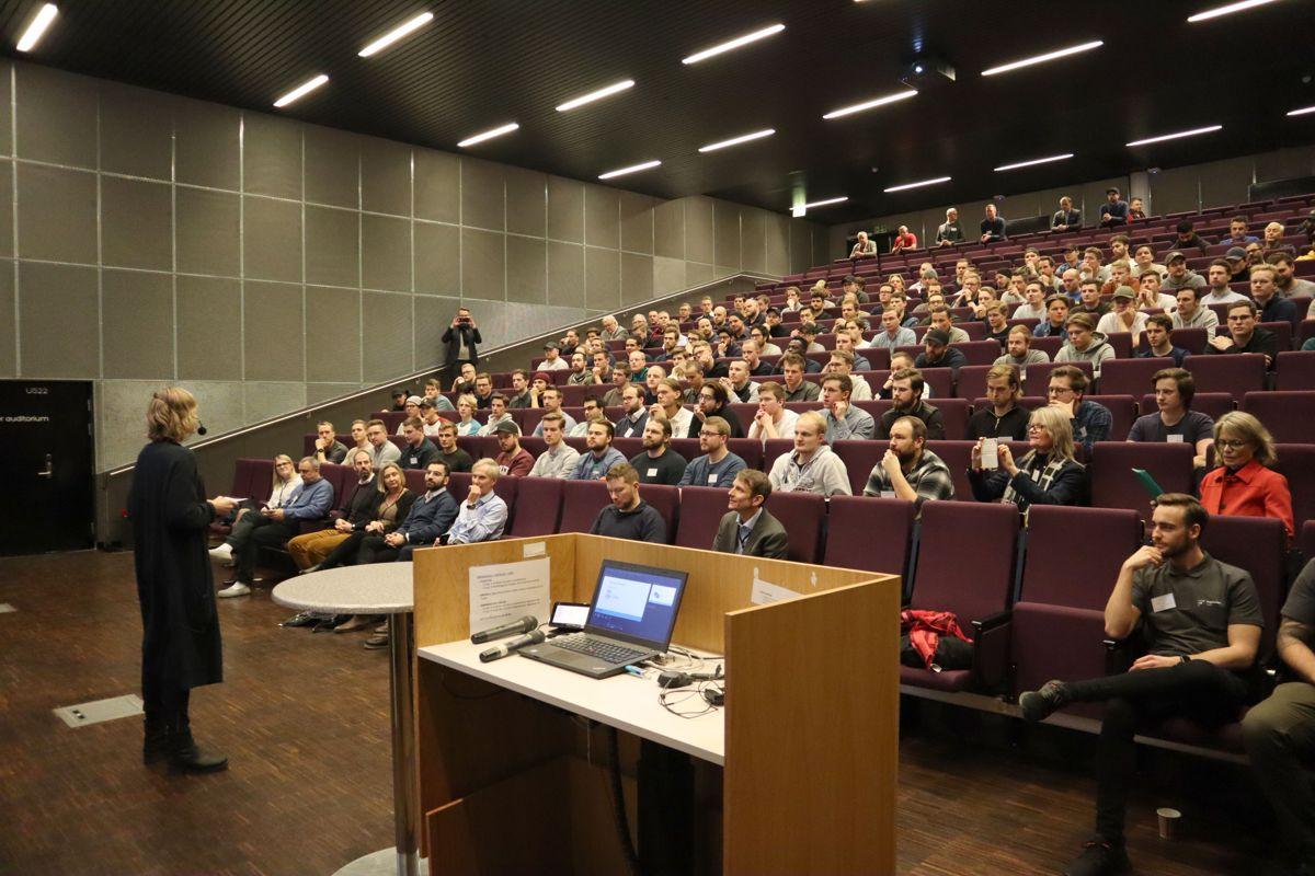 Fra åpningen av Karrieredagen ved Fagskolen Oslo Akershus. Foto: Svanhild Blakstad