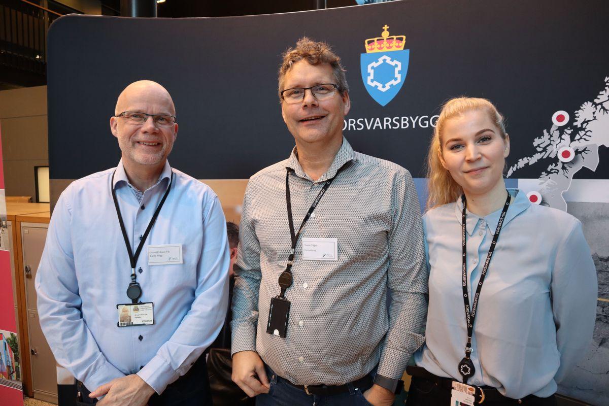 Forsvarsbygg på Karrieredagen. Foto: Svanhild Blakstad