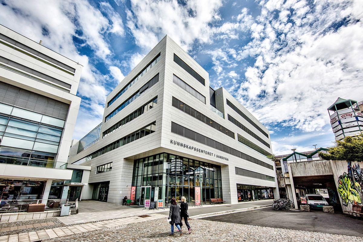Otto Sverdrups plass 4 i Sandvika. Foto: Thomas Bjørnflaten