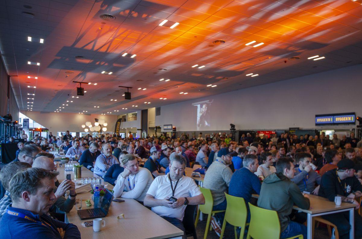 Mange hundre Bygger'n-medlemmer proffkunder og leverandører er denne helgen samlet på Gardermoen.