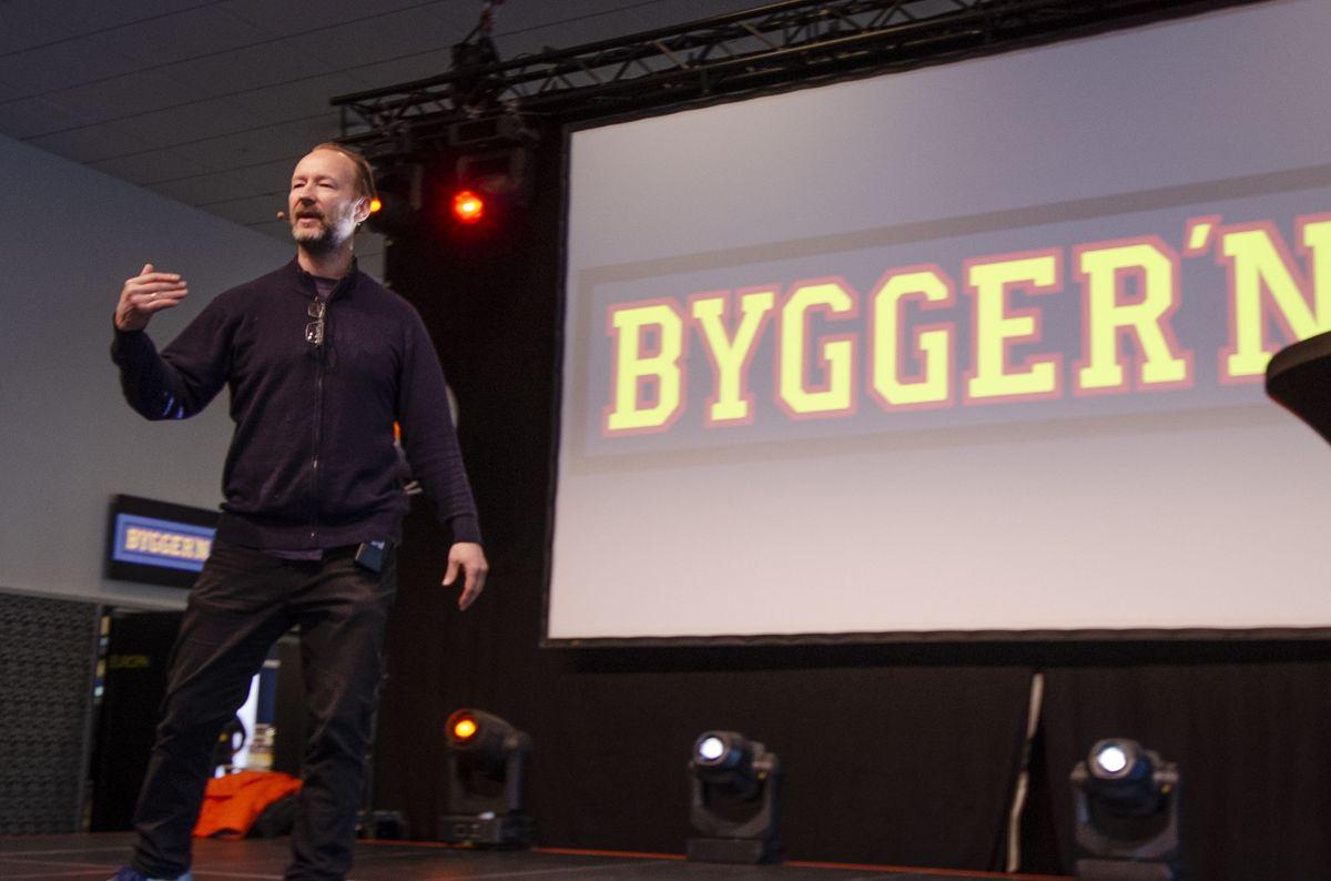 Kjetil André Aamodt inspirerte under Bygger'ns proffmesse fredag.