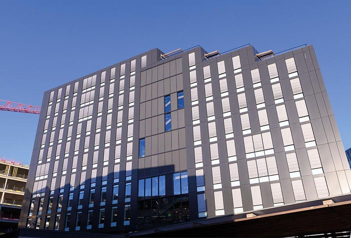 Kontorbygg i Karvesvingen 5, Haslelinje i Oslo, januar 2020. Byggherre: Höegh Eiendom / AF Eiendom Totalentreprenør: AF Bygg Oslo Arkitekt: LOF Arkitekter Prosjekttype: Kontorbygg Karveveien 5, Haslelinje på Hasle i Oslo. fotodato 16.1.2020. Byggherre: Höegh Eiendom / AF Eiendom Totalentreprenør: AF Bygg Oslo Arkitekt: LOF Arkitekter Interiørarkitekt: Scenario LARK: Grindaker