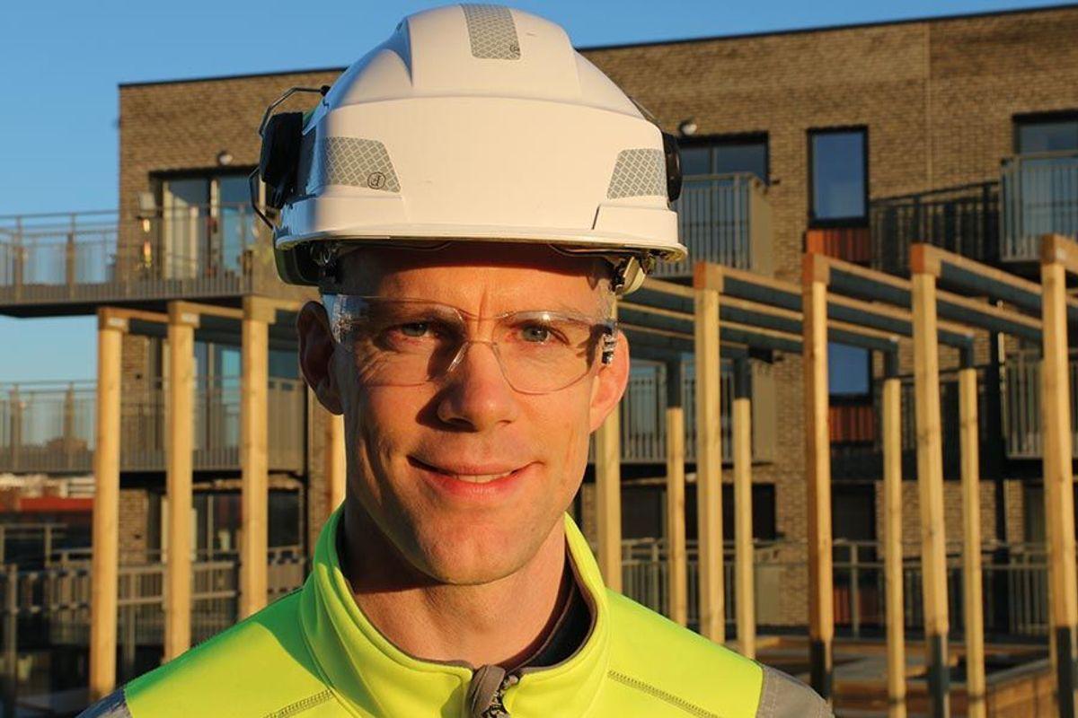 Prosjektleder Steinar Berg i Backe Stor-Oslo, mener Lillebergtunet er et prosjekt med gode kvaliteter.