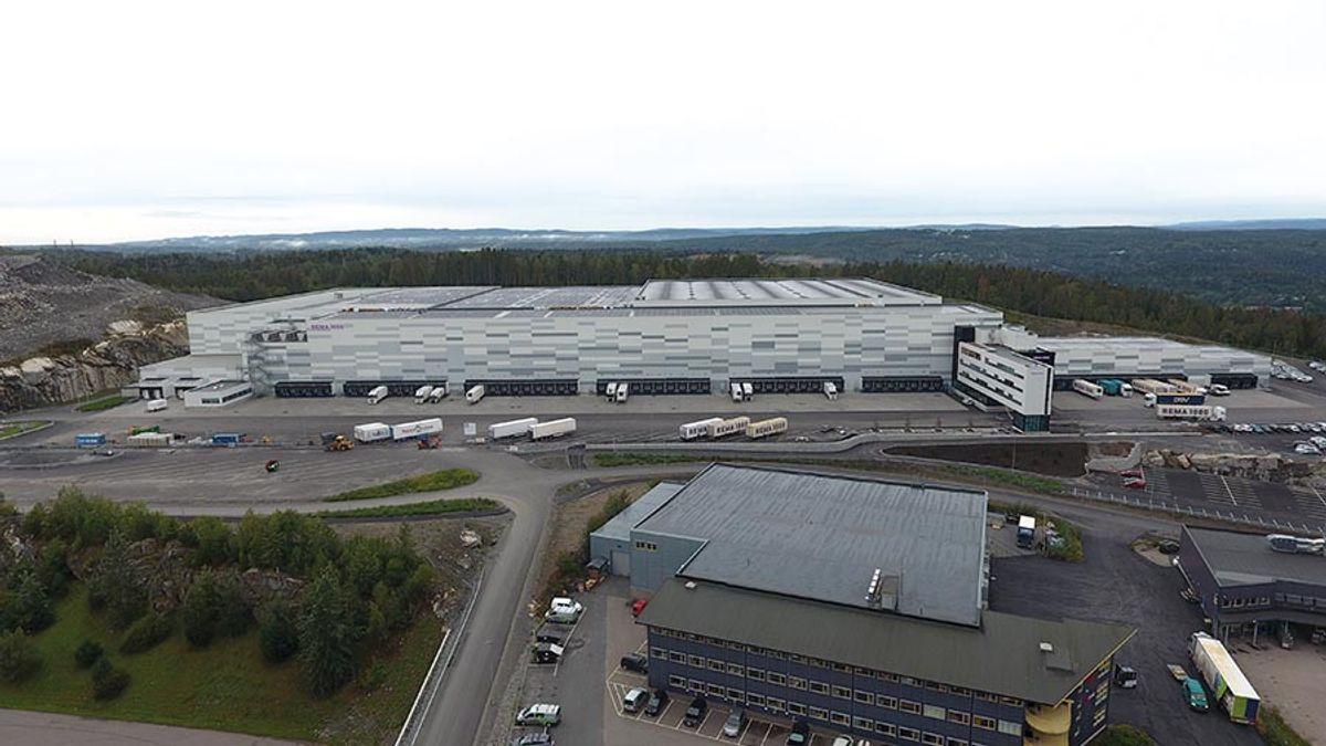 Dronefoto: Lars Skjetne, Login Eiendom