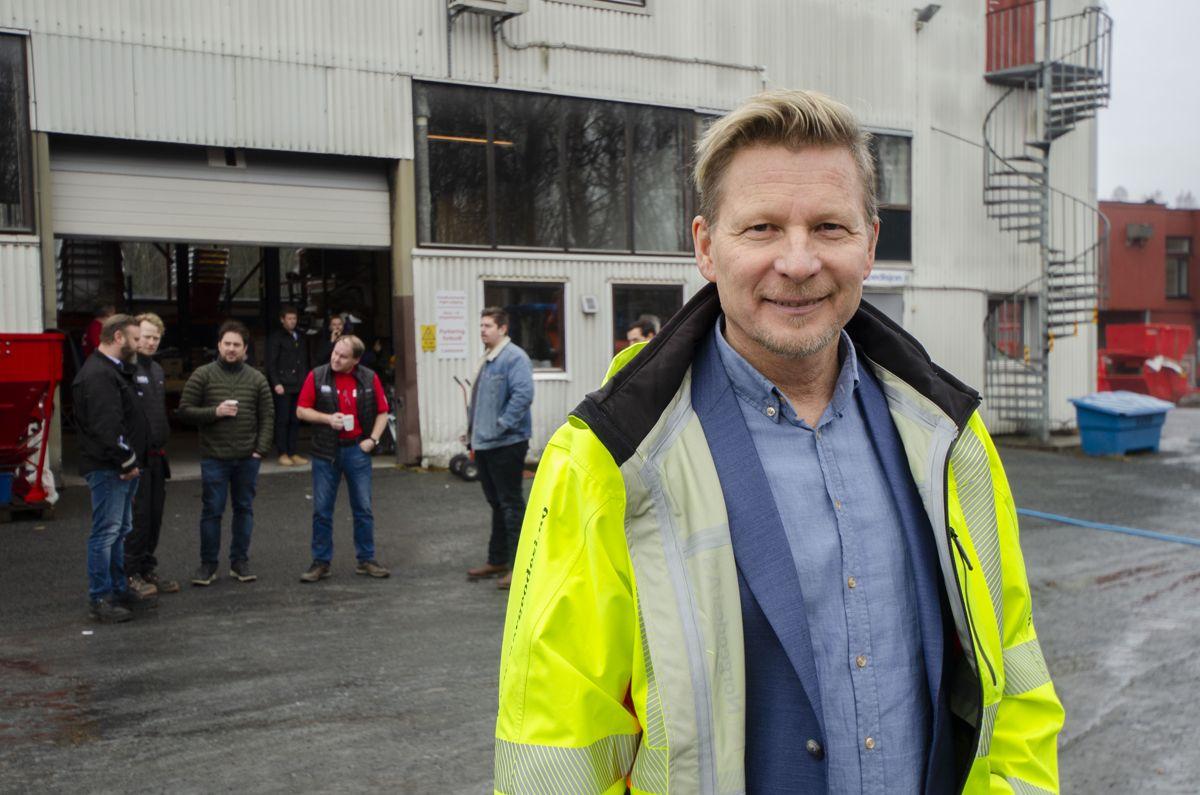 Administrerende direktør i Normann Olsen Maskin, Jo Einar Solhaug.
