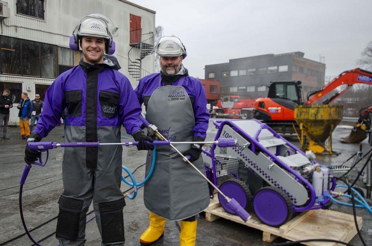 Paul Ritsche (til venstre) og Cato Holmen.