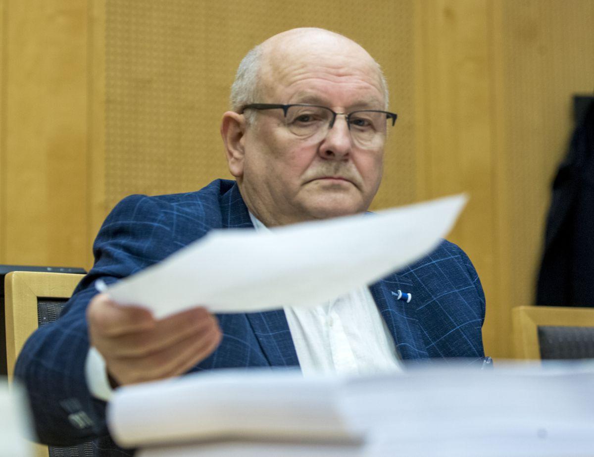 Atle Berge i Ølen Betong Gruppen har gått til søksmål mot staten. Foto: Terje Pedersen / NTB scanpix
