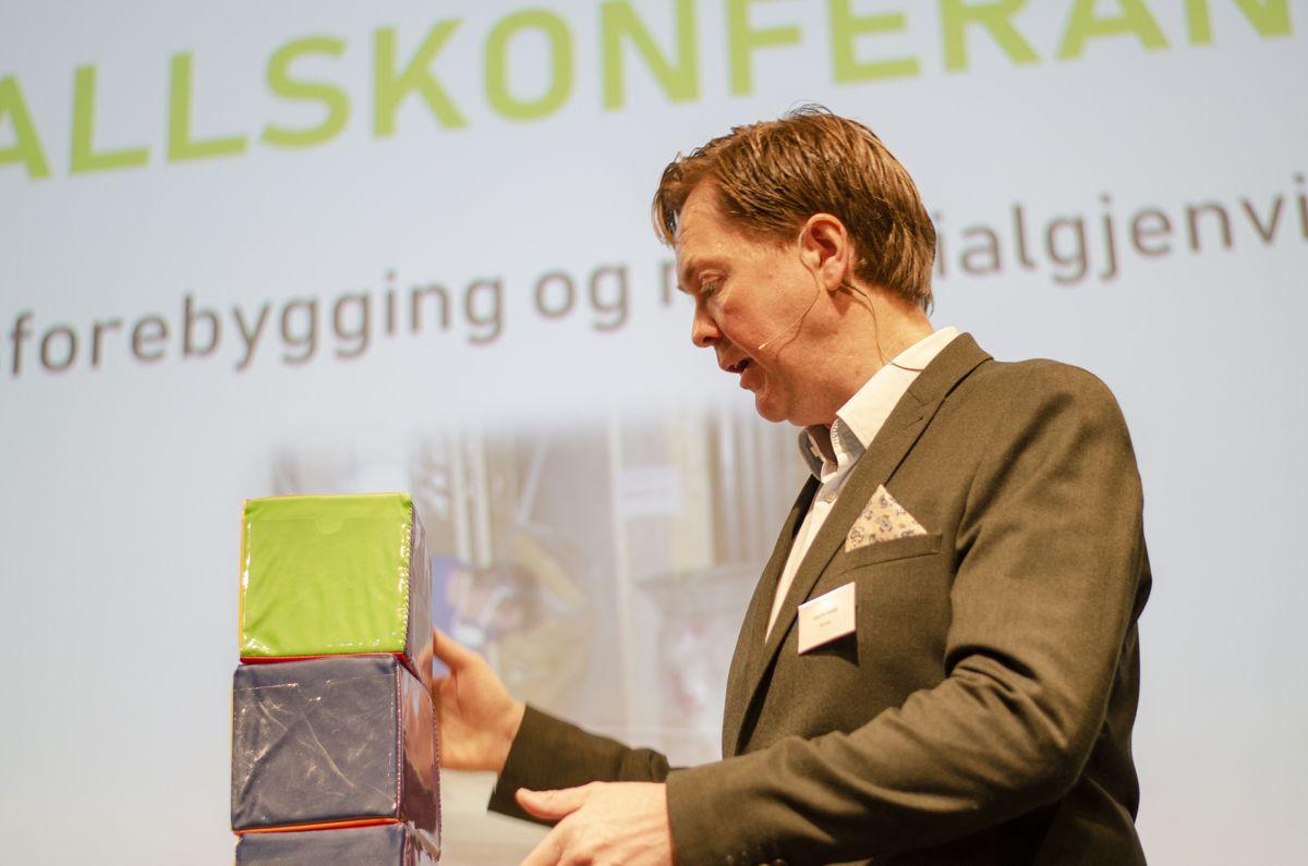 Daglig leder hos miljørådgiver Nomiko og møteleder for Byggavfallskonferansen 2020, Sverre Valde.