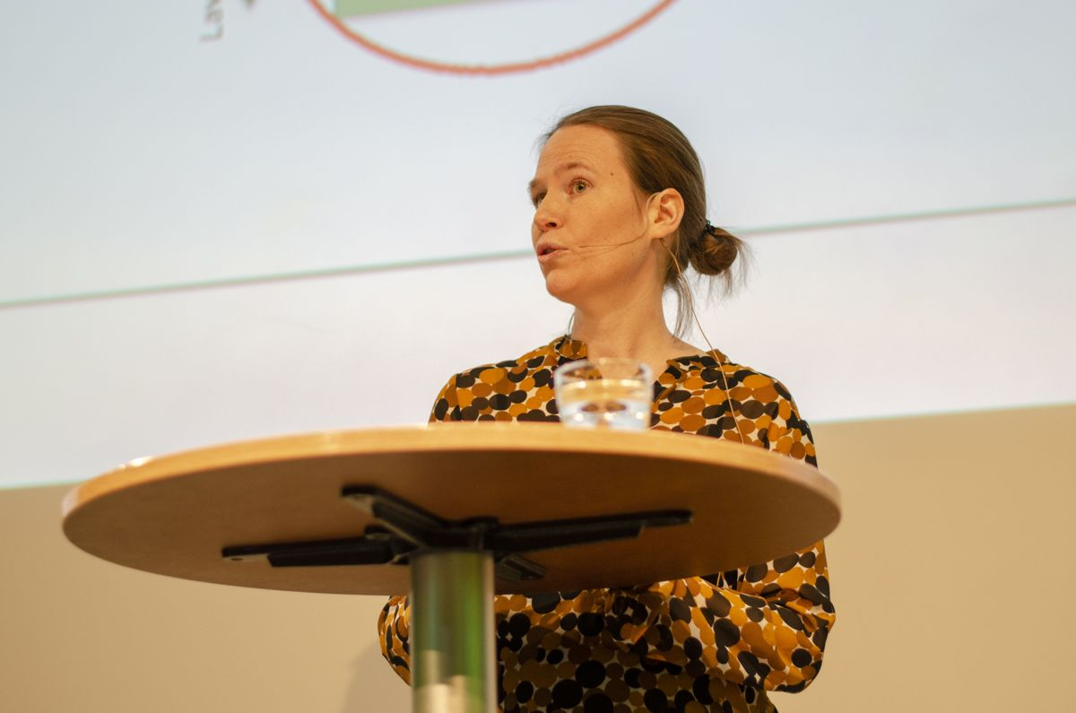 Hilde Valved i Miljødirektoratet kunne fortelle om ny grenseverdi for krom 6 i det nye kapittelet i avfallsforskriften som snart trer i kraft.