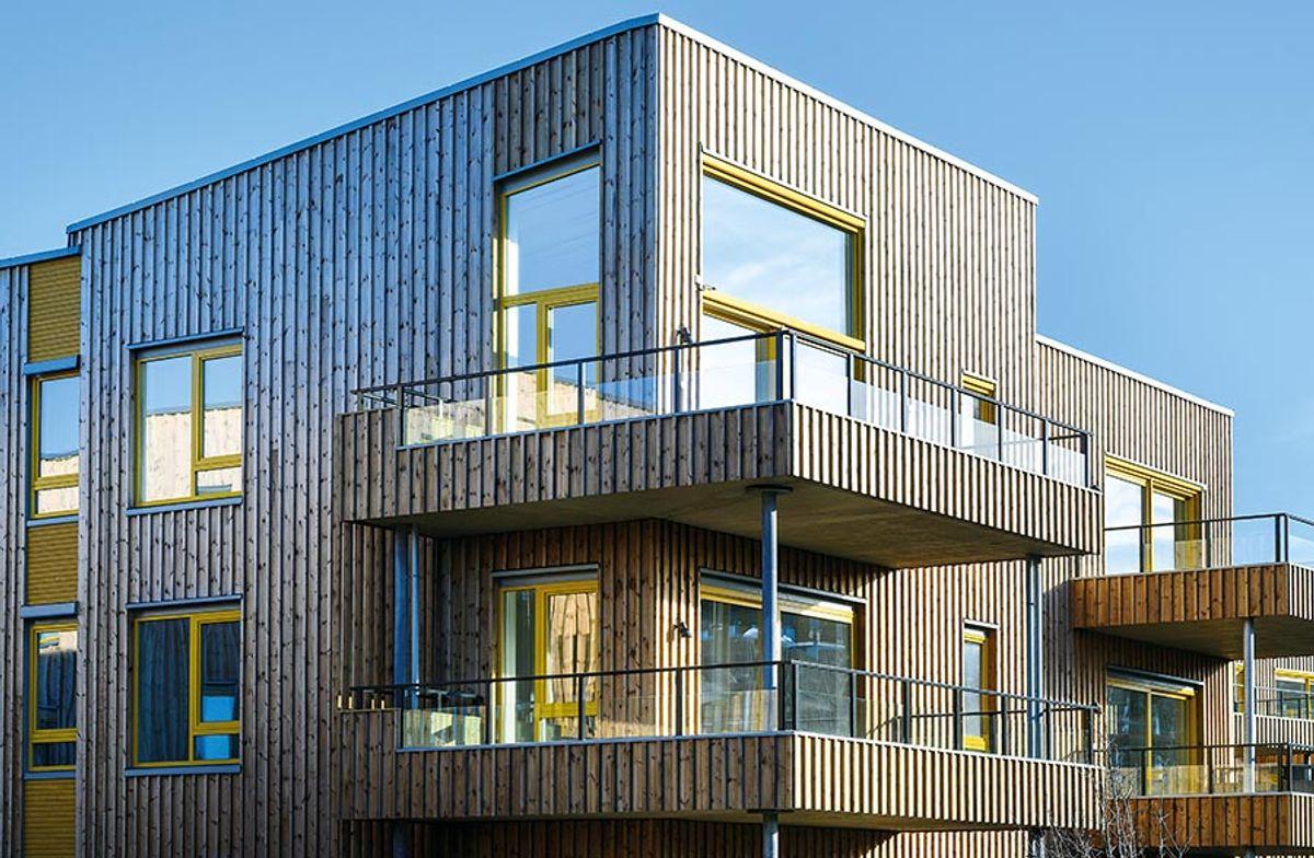 Oksenøya felt B4 - B6, på Fornebu 4.2.2019 Byggherre: OBOS Fornebu Totalentreprenør: WK Entreprenør Arkitekt og LARK: TAG Arkitekter