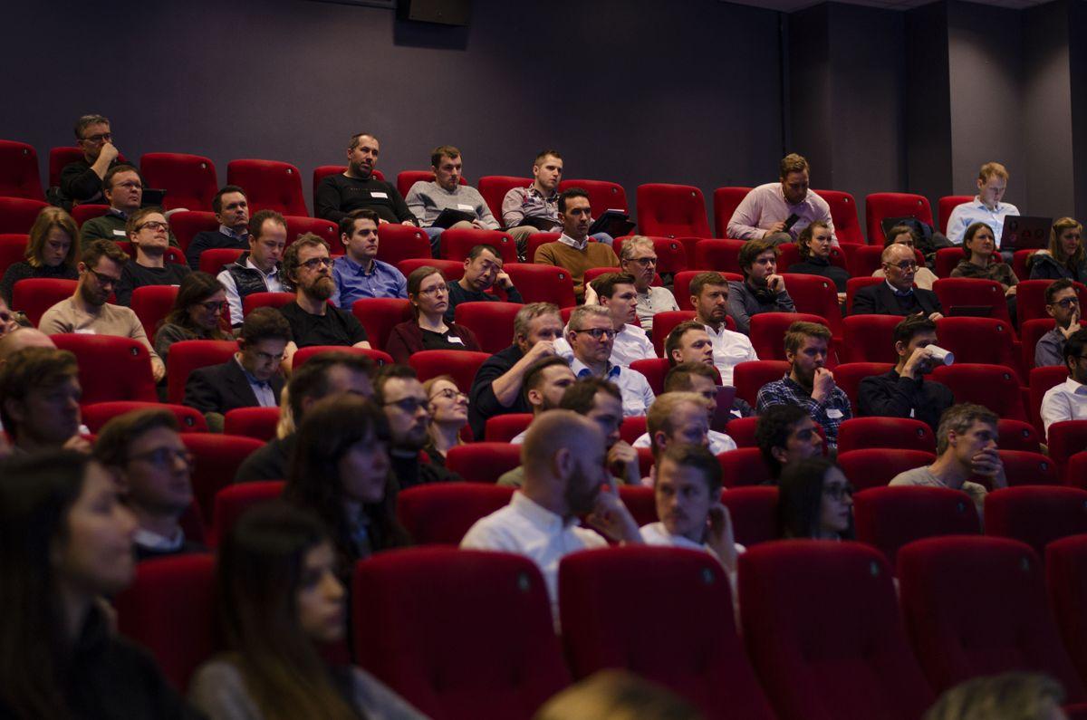 Omtrent 140 deltakere og forelesere var samlet i Felix konferansesenter i Oslo denne uken for å diskutere parametrisk design.