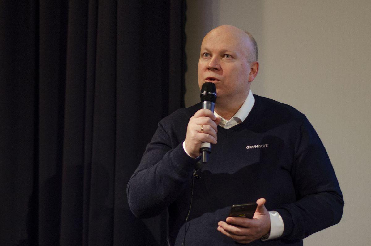 Teknisk sjef Frode Saltkjelvik i Graphisoft.
