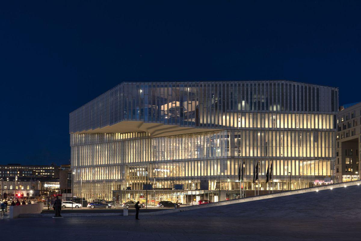 Oslo kommune har satt høye miljøkrav for det nye hovedbiblioteket. Foto: Jiri Havran