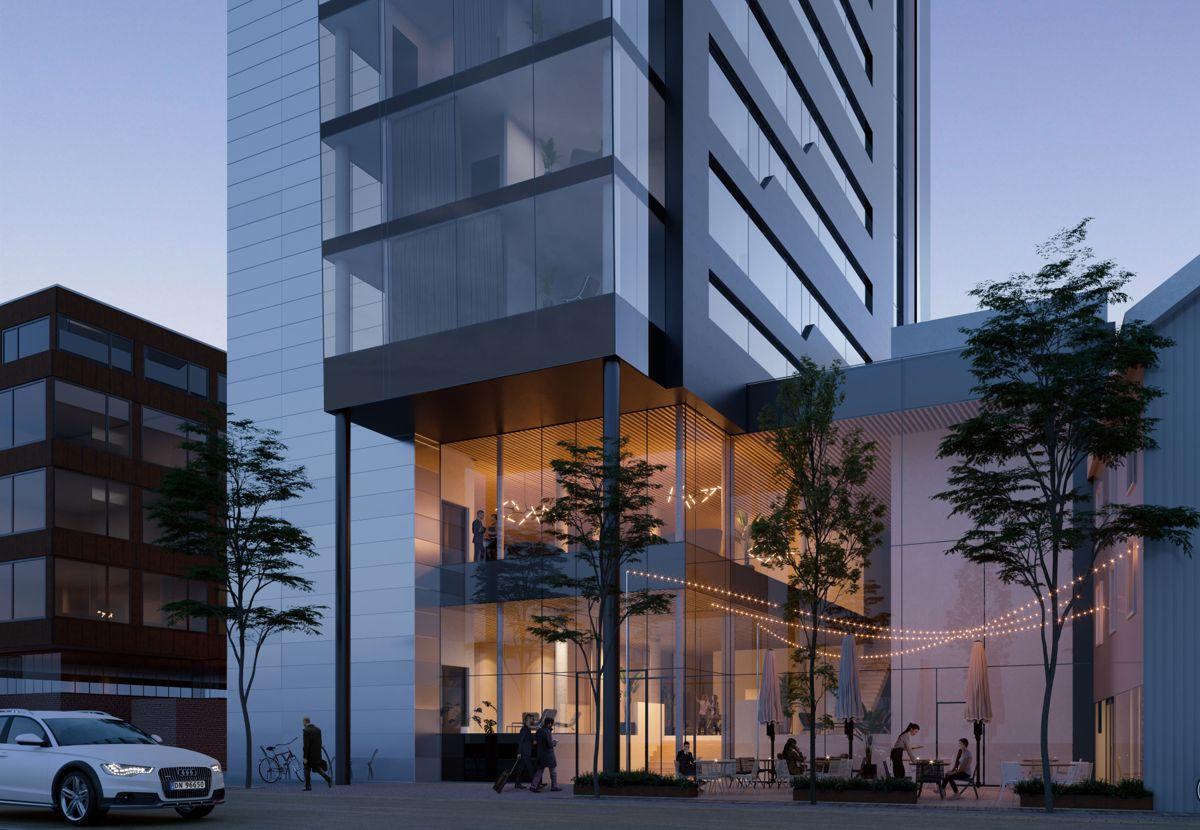 Illustrasjon: Hamperokken Arkitektur