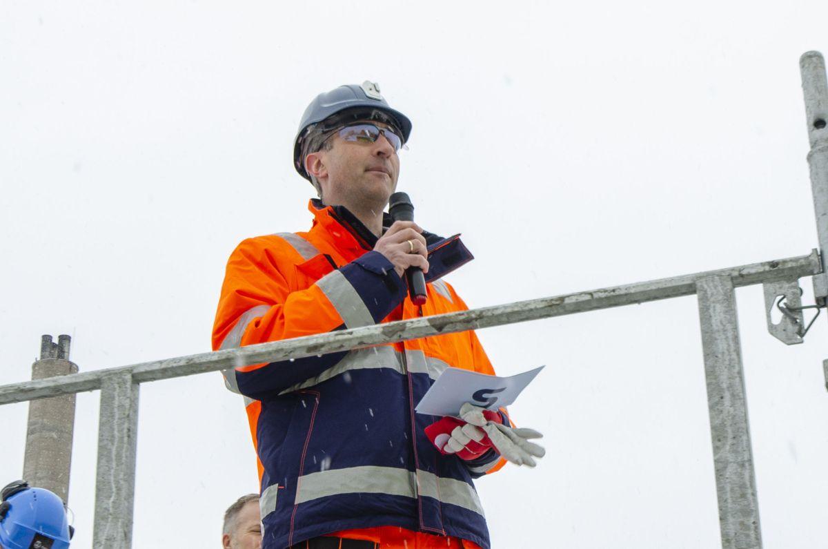 Administrerende direktør i Skanska, Ståle Rød