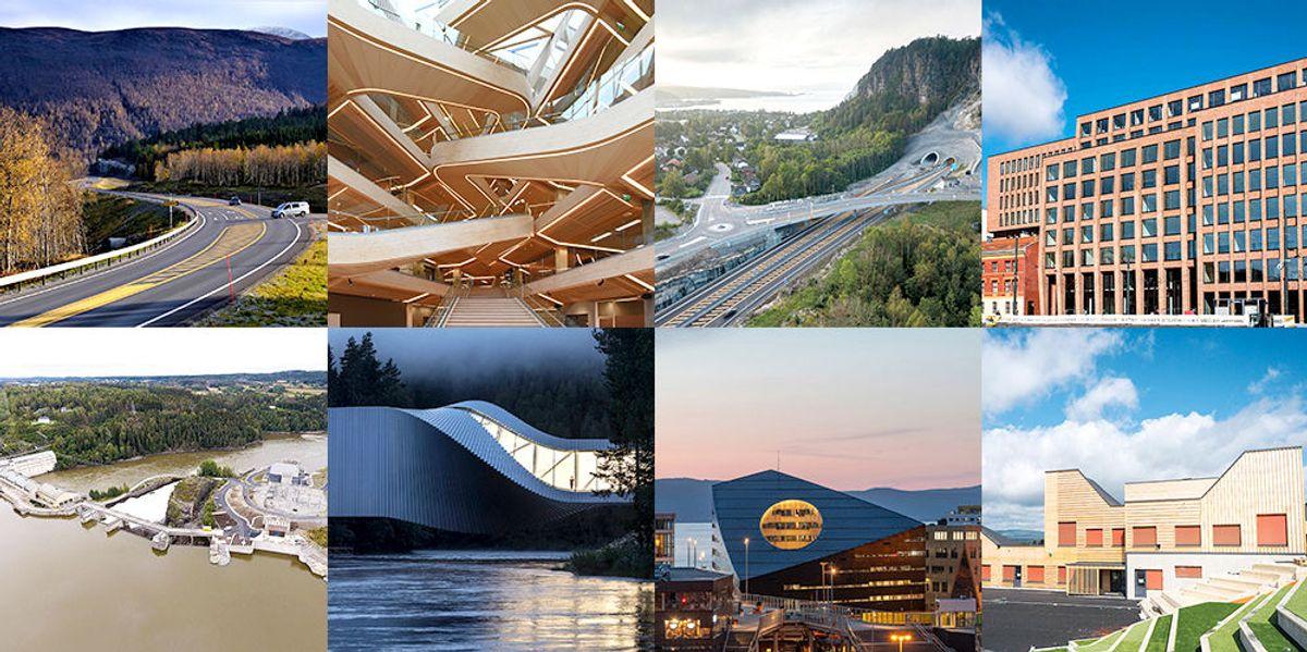 <p>Her er det nominerte prosjektene til Årets Bygg og Årets Anlegg 2019.</p>
