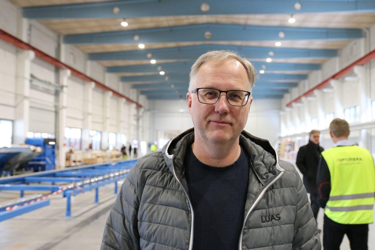 Optimera leide inn Brede Lesjø i Lesjø Utvikling AS som prosjektleder for fabrikkprosjektet.